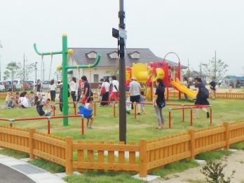 画像:幼児遊具広場